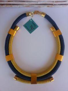 rope necklacenecklace by Nefelislittlestore on Etsy, €19.00