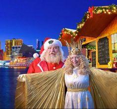 Christmas Village in Baltimore - Baltimore, MD #Yuggler #KidsActivities #Holiday