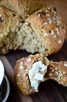 blissful eats with tina jeffers: Hazelnut honey oat bread