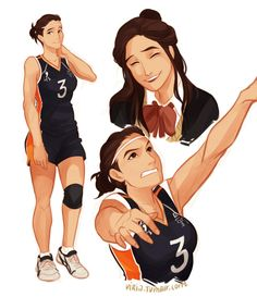 viria haikyuu genderbend - Google Search