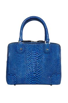 Top-handle blue bag. Alice + Olivia