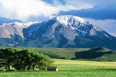 West, Spanish Peaks, La Veta, Colorado