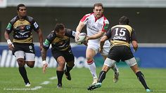 Ulster Rugby |Montpellier 8 Ulster 25 Darren cave vs three Frenchmen
