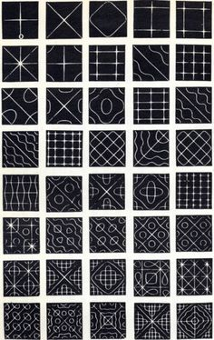 Exquisite patterns emerge from salt scattered on a metal plate which is stroked with a bass fiddle bow, illustrating two dimensional vibration (via Chladni Plate) ... subdivisions, repetition, negative