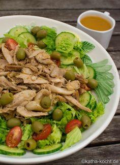 Couscous Salat mit Orangen-Hähnchen - Katha-kocht!
