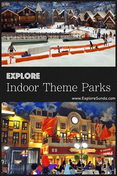 The best 5 indoor theme parks in the land of Sunda: from a city run by children in Kidzania Jakarta to the whole family thrilling rides at Trans Studio Bandung and Cibubur to the Snow World in Bekasi and Bintaro. Which one is your favorite? | #ExploreSunda #IndoorThemePark #KidzaniaJakarta #SnowWorld #TransStudio Pretend City, African Museum, Sci Fi City, Pacific Place, Family Holiday Destinations, Beach Walk, Outdoor Settings, Roller Coaster, Jakarta