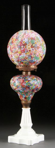 29 Milliefiori Lamps Ideas Lamp Antiques Glass Art