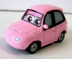 Disney Pixar Cars Chuki Pink Little Girl Car 1/55 Die Cast  #Disney