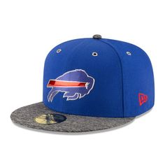 Buffalo Bills New Era 2016 NFL Draft On Stage 59FIFTY Fitted Hat - Royal/Heathered Gray
