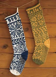 Modern Classic Christmas Stockings