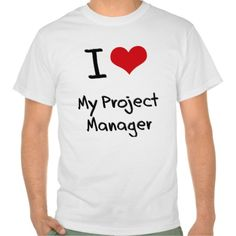 I heart My Project Manager T Shirt, Hoodie Sweatshirt