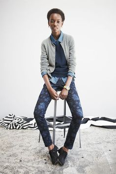 "Herieth Paul featured in the Nordstrom November 2012 ""gifts with personality"" catalog."
