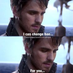 aw he so wanted to raise Bae.... Captain Hook is probably one of the best, if not the best character on that whole show <3