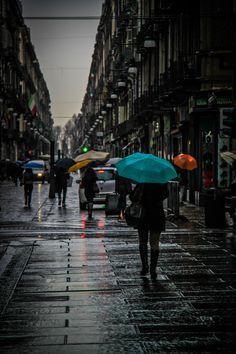 Torino in the Rain - Italy