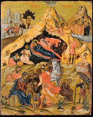 Nativity Art - The Nativity and the Adoration of the Magi  by Celestial Images
