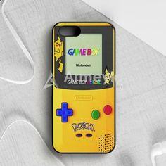 Yellow Gameboy Pokemon iPhone 5 5S SE Case   armeyla.com