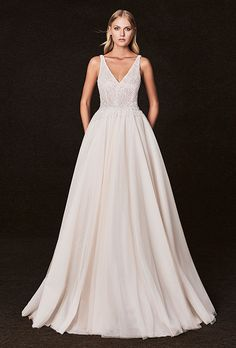 Brides.com: . Wedding dress by Victoria Kyriakides