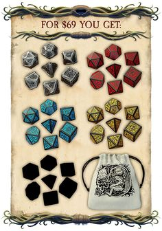 Help us create one of a kind, official & scary Call of Cthulhu Metal Dice Set!