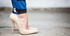 How to Wear Heels in NYC Without Falling, Getting Blisters or Crying via @PureWow