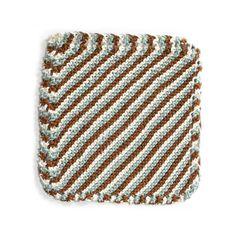 Brighton Beach Washcloth (Knit)