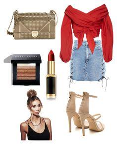 """""""Sin título #146"""" by natalia-camargo14 on Polyvore featuring moda, Topshop, Johanna Ortiz, Christian Dior, Bobbi Brown Cosmetics y L'Oréal Paris"""