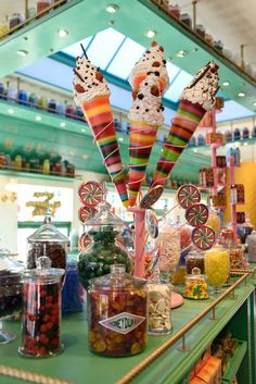 Honeydukes Sweets Shop at The Wizarding World of Harry Potter in Universal Studios Hollywood