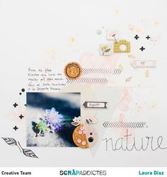 Layout Nature y Lovely moment