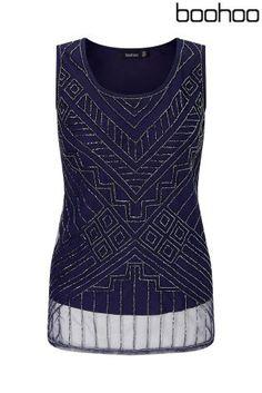 Buy Boohoo Embellished Vest Top from Next Israel
