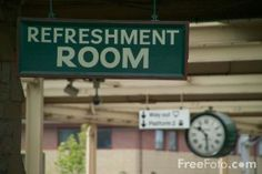 Refreshment Room at Carnforth Station