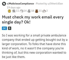 It's interesting how quickly a certain act becomes redundant once it starts costing a company money. #email #lol #funny #story