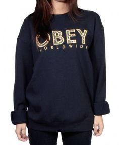 Obey - Brower Crewneck Sweater - $58