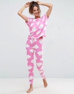 Cloud Print Pajamas