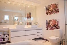 We are really digging this bathroom!