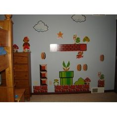 Nintendo Wall Graphics - Super Mario Bros $69.99 Amazon.com