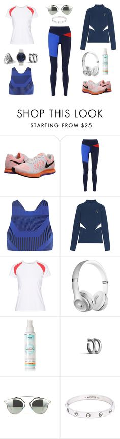 """285 - Go Get Your Tights Part 4"" by caroline-mathilde ❤ liked on Polyvore featuring NIKE, Lucas Hugh, Prism, L'Etoile Sport, Beats by Dr. Dre, Mio, Komono and Cartier"