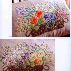 "Милые сердцу штучки: Вышивка гладью: ""Herb embroidery"" (+схемы)"