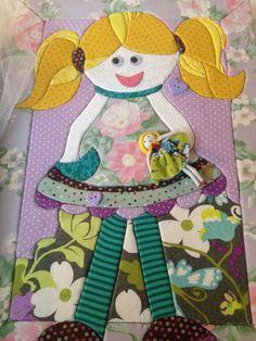 Esta é a caixa da Mel, toda em patchwork embutido!