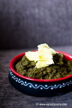 Sarson ka Saag | Mustard Greens Cooked Punjabi Style