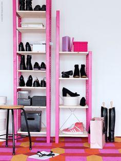 <p></p><P>Vous croulez sous les chaussures? Partout, vous trébuchez dessus, du dressing au grenier, du bureau ...