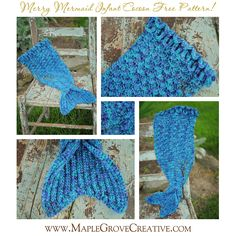 Maple Grove Creative Design: The Merry Mermaid Infant Cocoon free pattern!
