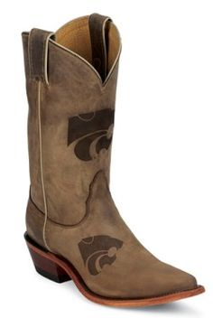 K-State Cowboy Boots <3