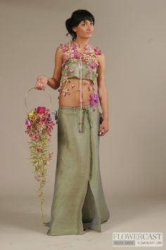 Designed by Sergey Malyuchenko unusual wedding bouquet #unique #wedding #bouquet