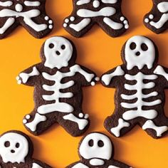 Spooky and Sweet Halloween Snacks: Bittersweet Chocolate Cookies Recipes | CookingLight.com