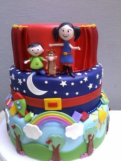 bolo feito manualmente em biscuit. Bolo Fack, Biscuits, America 2, South America, Alice, Food And Drink, Birthday Cake, Desserts, Aurora