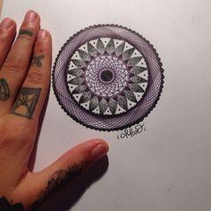 Mandala by Mar Tattoo Mandala, Tattoos, Tatuajes, Tattoo, Tattoo Illustration, Mandalas, Irezumi, A Tattoo, Flesh Tattoo