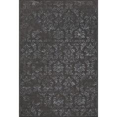 Feizy Azeri IV Rug in Dark Gray / Dark Gray