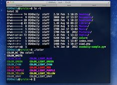 Improve the Terminal appearance in Mac OS X