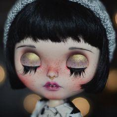Blythe Doll by insightdoll on Instagram  lan#blythe#blythestagram#customblythe #blythecustom#doll #inisghtdoll #sunnyli
