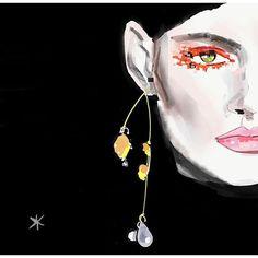 Beauty details inspired on the neon mascara over eyelashes by @driesvannoten Make-up @peterphilipsmakeup Hair by @sammcknight1 See more in my website thesevyanthouse.com #driesvannoten #driesvannoteninspirations #dvn #womenfashion #beautydetails #earrings #orangelashes #neonlashes #peterphilipsmakeup #peterphilips #sammcknight #paris #parisfashion #parisfashionweek #pfw2018 #aw2018#thesevyant_house #fashionillustrator #fashionartist #illustratorsoninstagram #fashionblogger…
