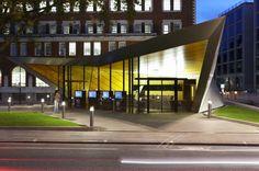 Information Center, Tourist Information, Architects London, Mix Use Building, Museum Architecture, Exterior Cladding, Interior Photography, Architect Design, London City